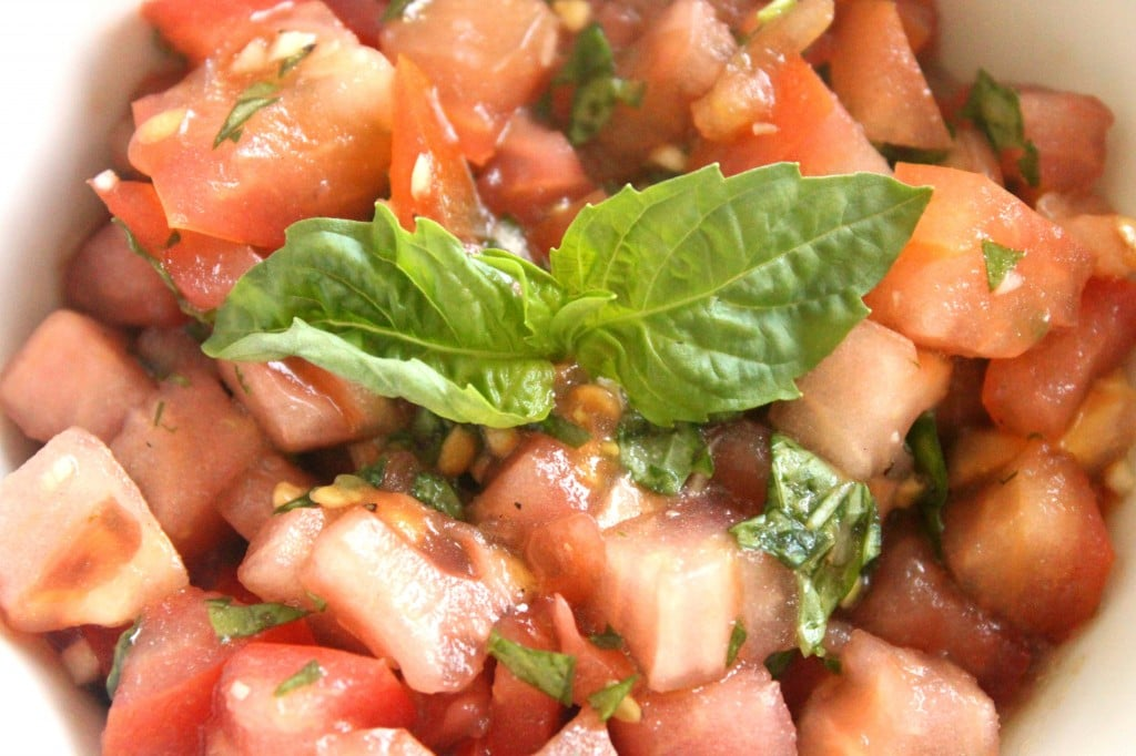 Bruschetta Chicken by @JesseLWellness #bruschetta