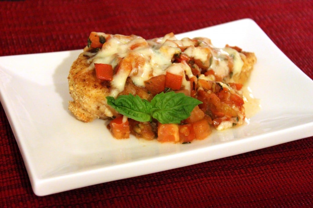 Bruschetta Chicken by @JesseLWellness #chicken