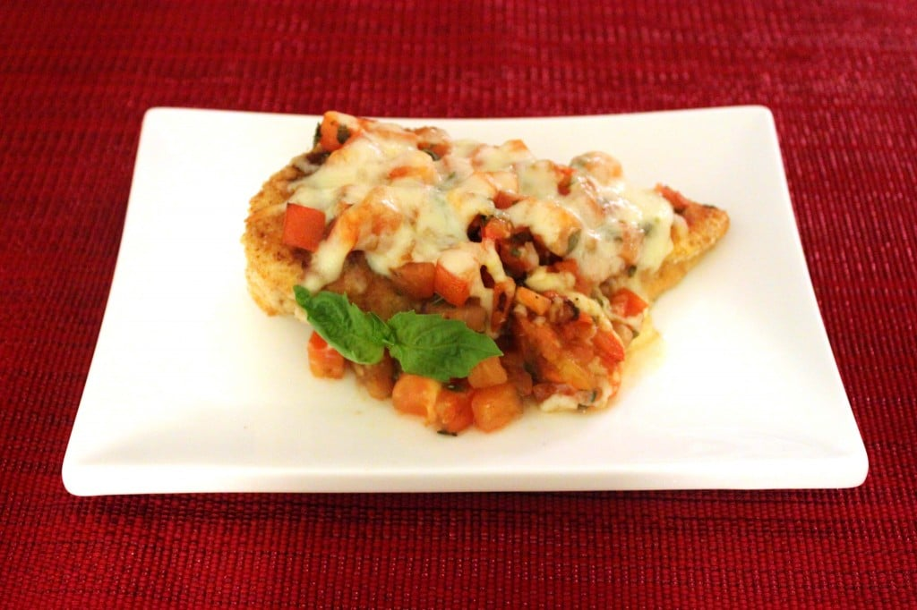 Bruschetta Chicken by @JesseLWellness #recipe