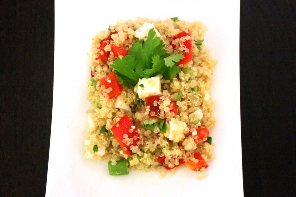 Mediterranean Quinoa Salad by @JesseLWellness #quinoa