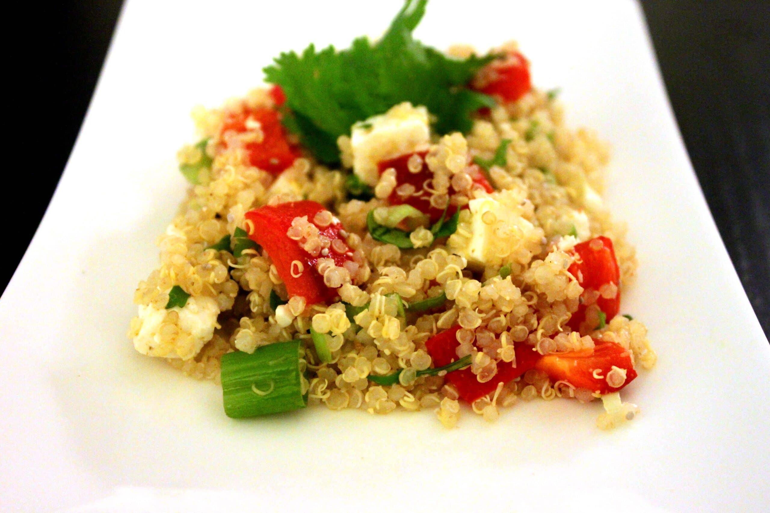 Mediterranean Quinoa Salad Gluten Free Jesse Lane Wellness