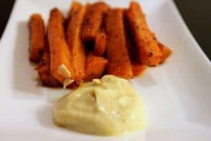 Sweet Potato Fries by @JesseLWellness #sweetpotato