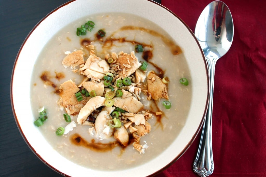 Brown Rice Congee by @JesseLWellness #congee