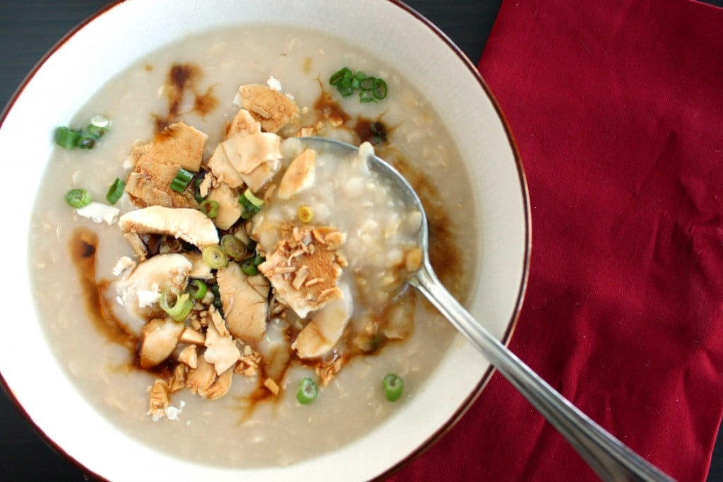 Brown Rice Congee by @JesseLWellness #glutenfree