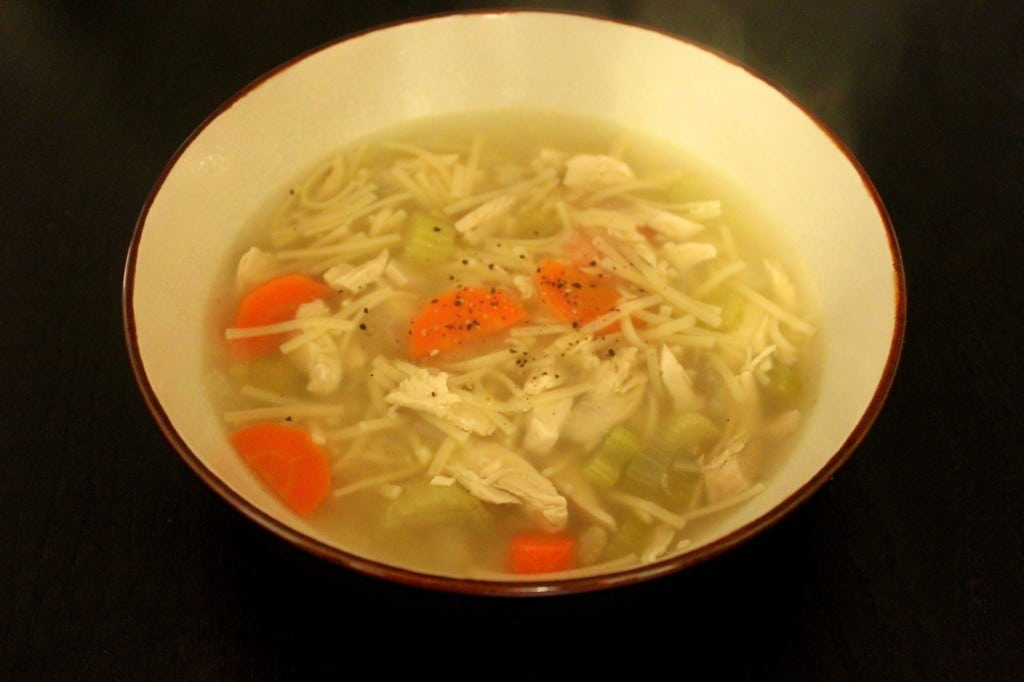 Chicken Noodle Soup by @JesseLWellness #soup