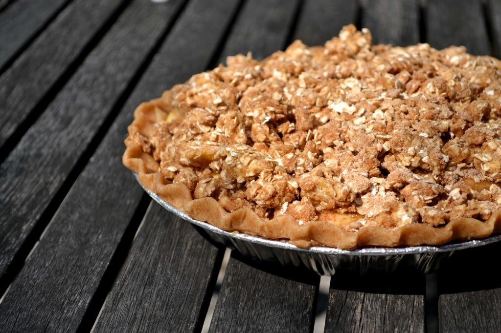 Humble Apple Pie Crumble by @JesseLWellness #nutfree