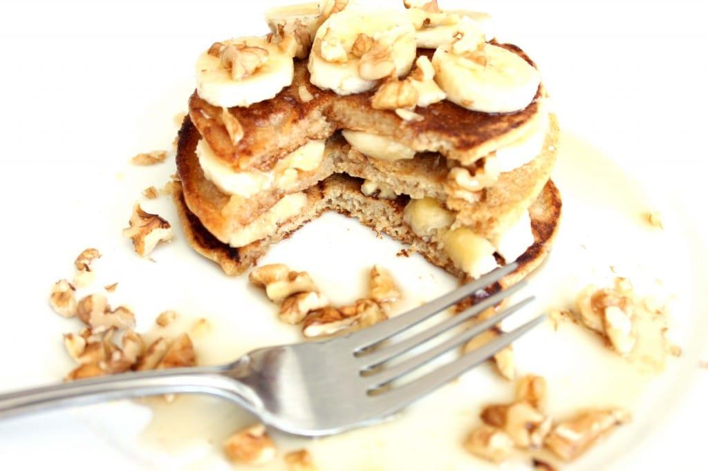 Stack'em High Spelt Pancakes by @JesseLWellness #spelt