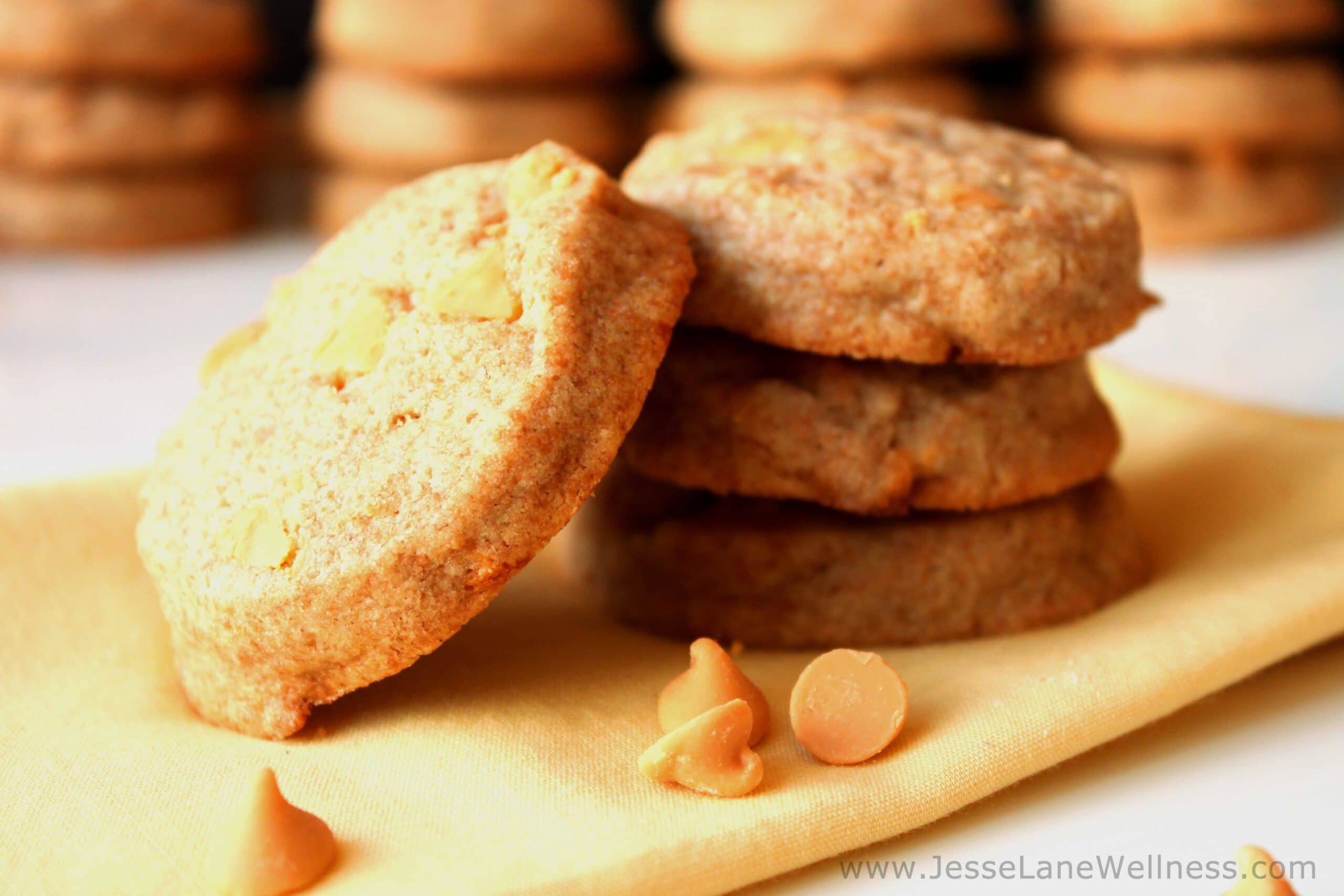 Butterscotch Scone Cookies by JesseLWellness #cookies