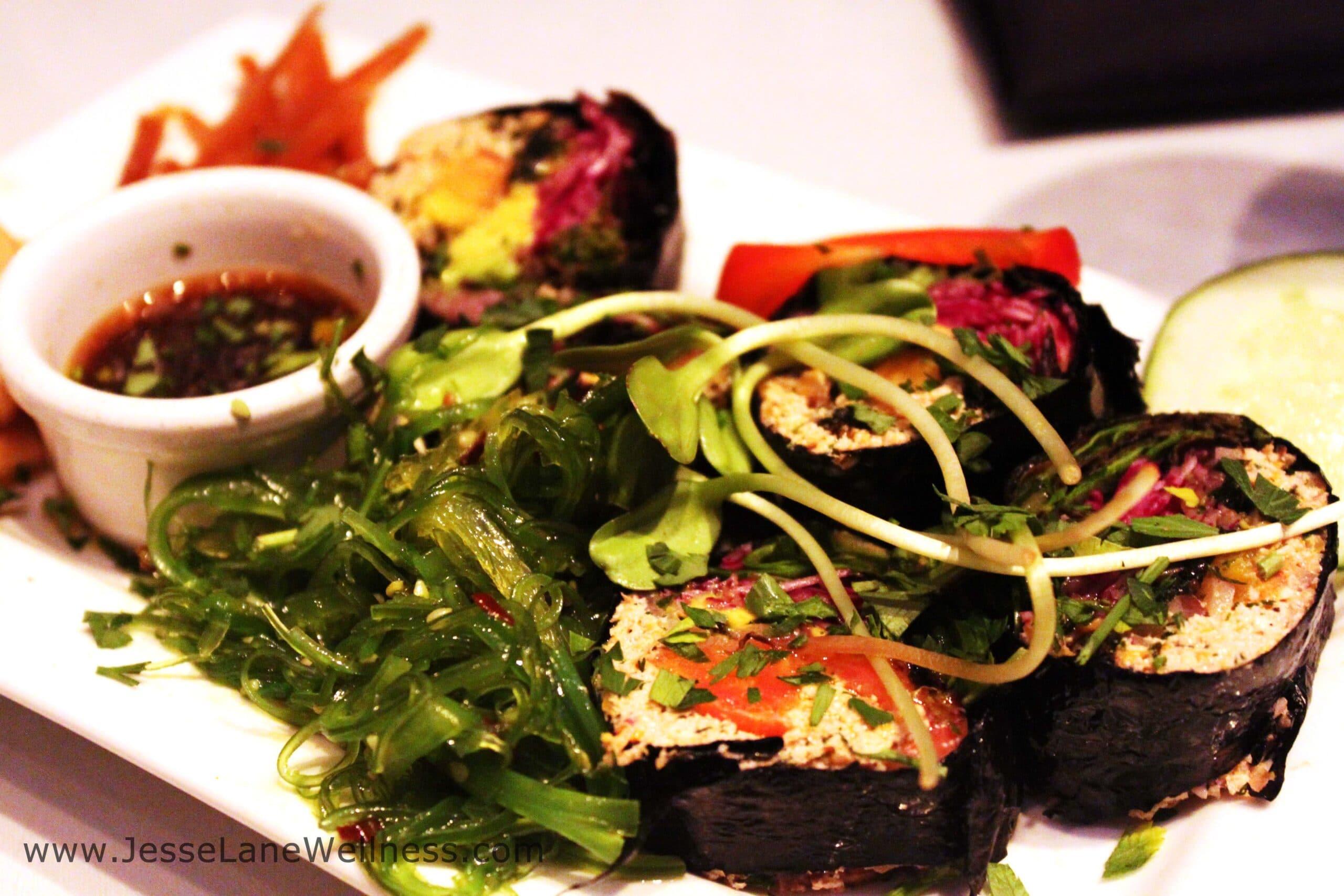 Healthy Restaurants in LA by @JesseLWellness Planet Raw
