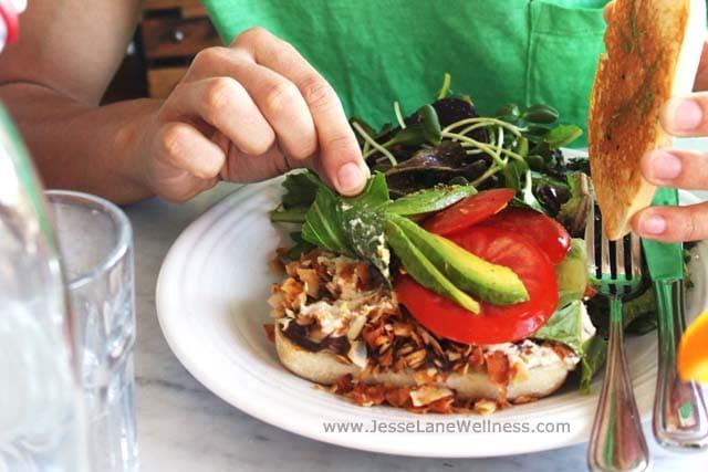 Healthy Restaurants in LA by @JesseLWellness #cafegratitude