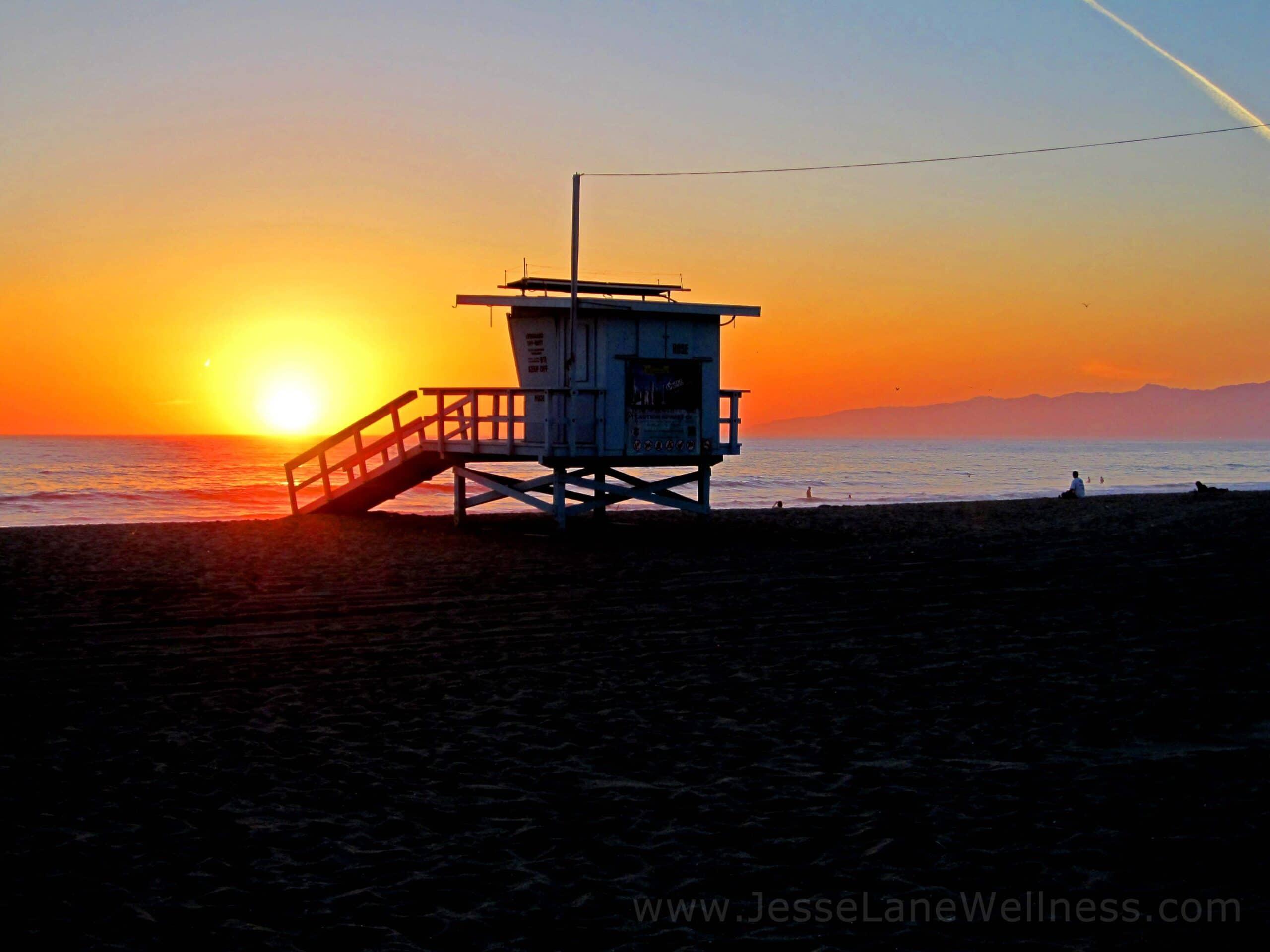 Healthy Restaurants in LA by @JesseLWellness #sunset