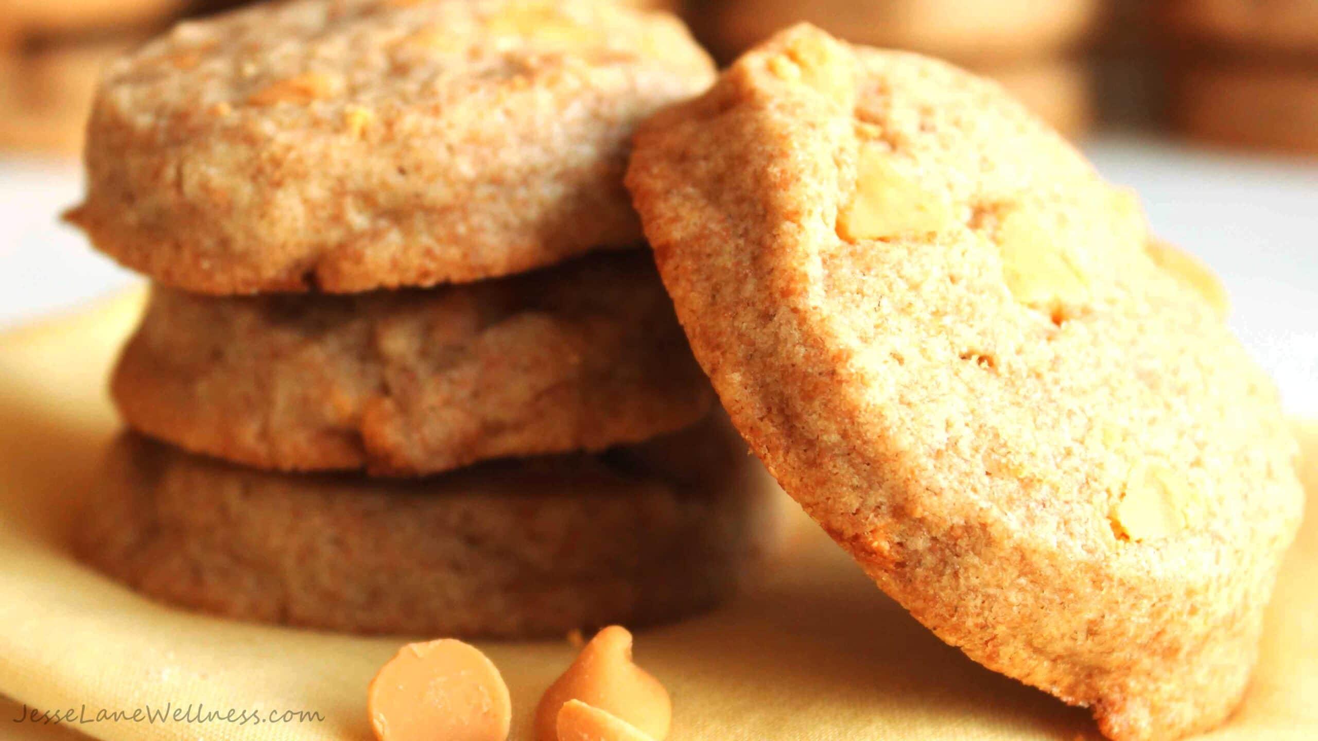 Butterscotch Scone Cookies by @JesseLWellness #butterscotch