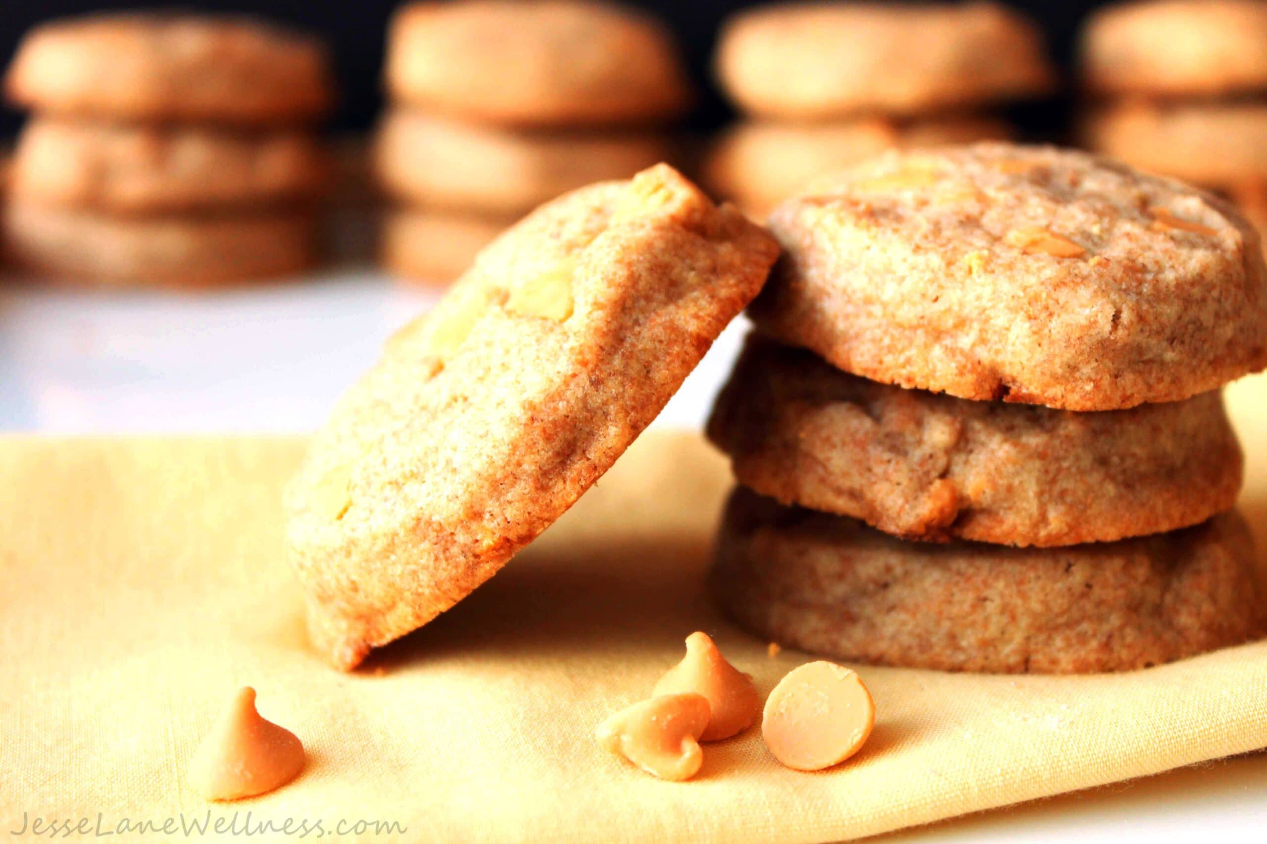 Butterscotch Scone Cookies by @JesseLWellness #cookies
