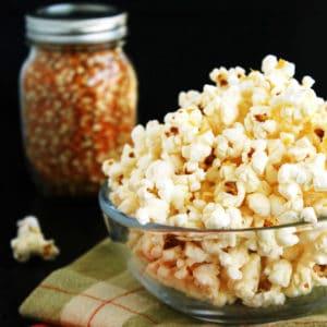 Cheesy Popcorn by Jesse Lane Wellness