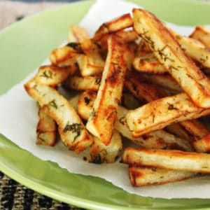 Dill Pickle Fries by @JesseLWellness #dill #fries