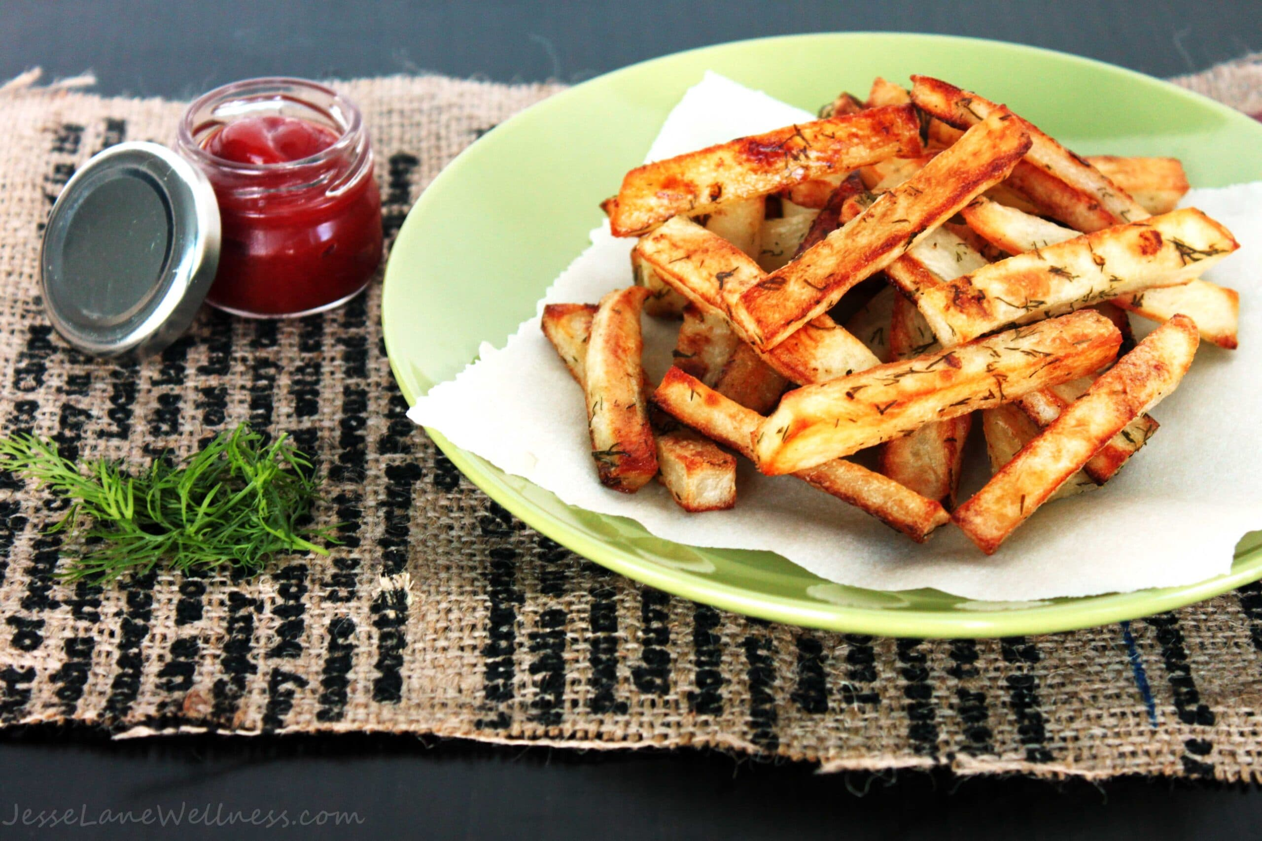 Dill Pickle Fries by @JesseLWellness #glutenfree
