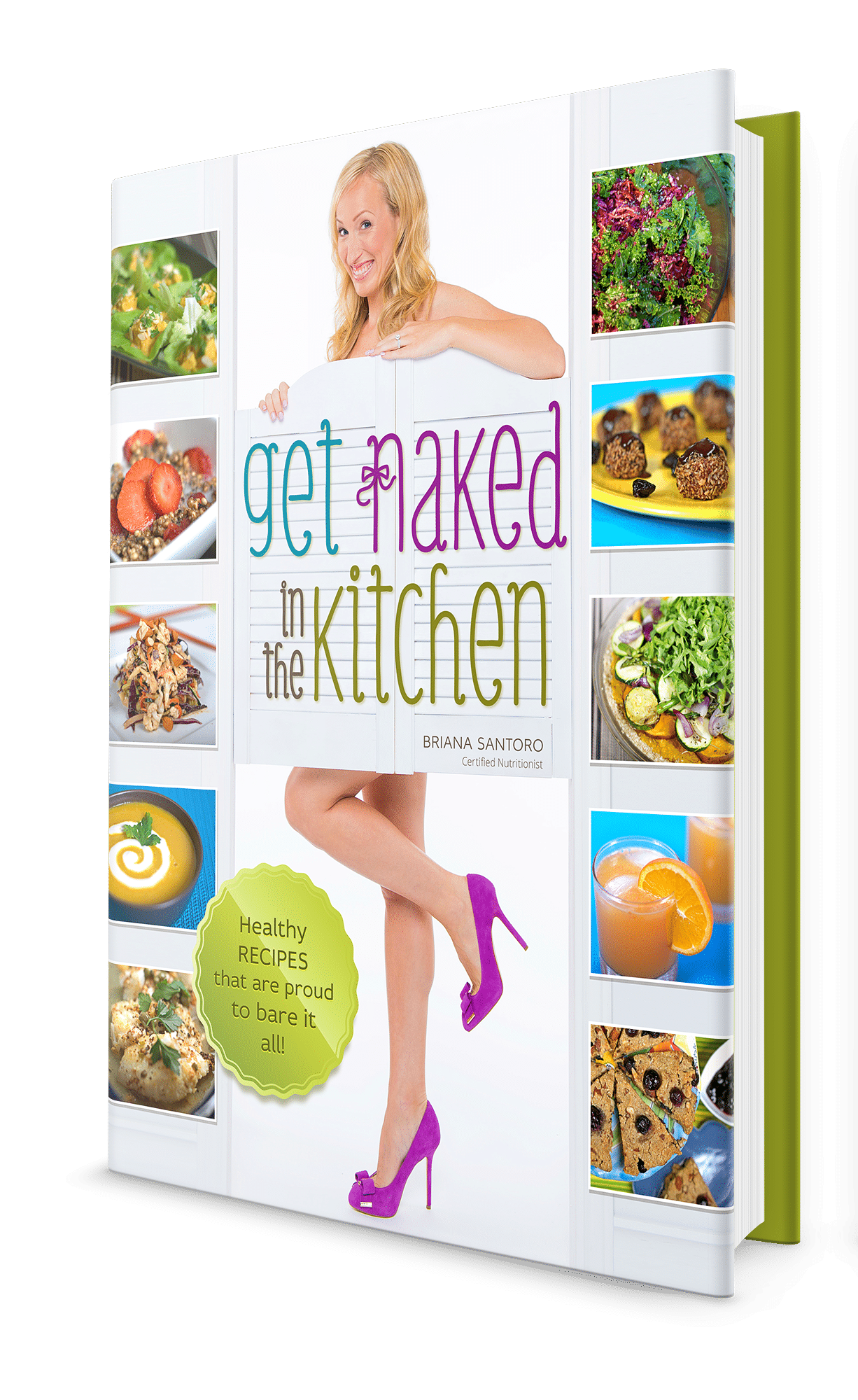 Get Naked In The Kitchen - Front Cover - Jesse Lane Wellness