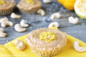 Raw Lemon Cheese Cake by @JesseLWellness #vegan