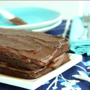 Carob Cake with Fudge Icing by Jesse Lane Wellness