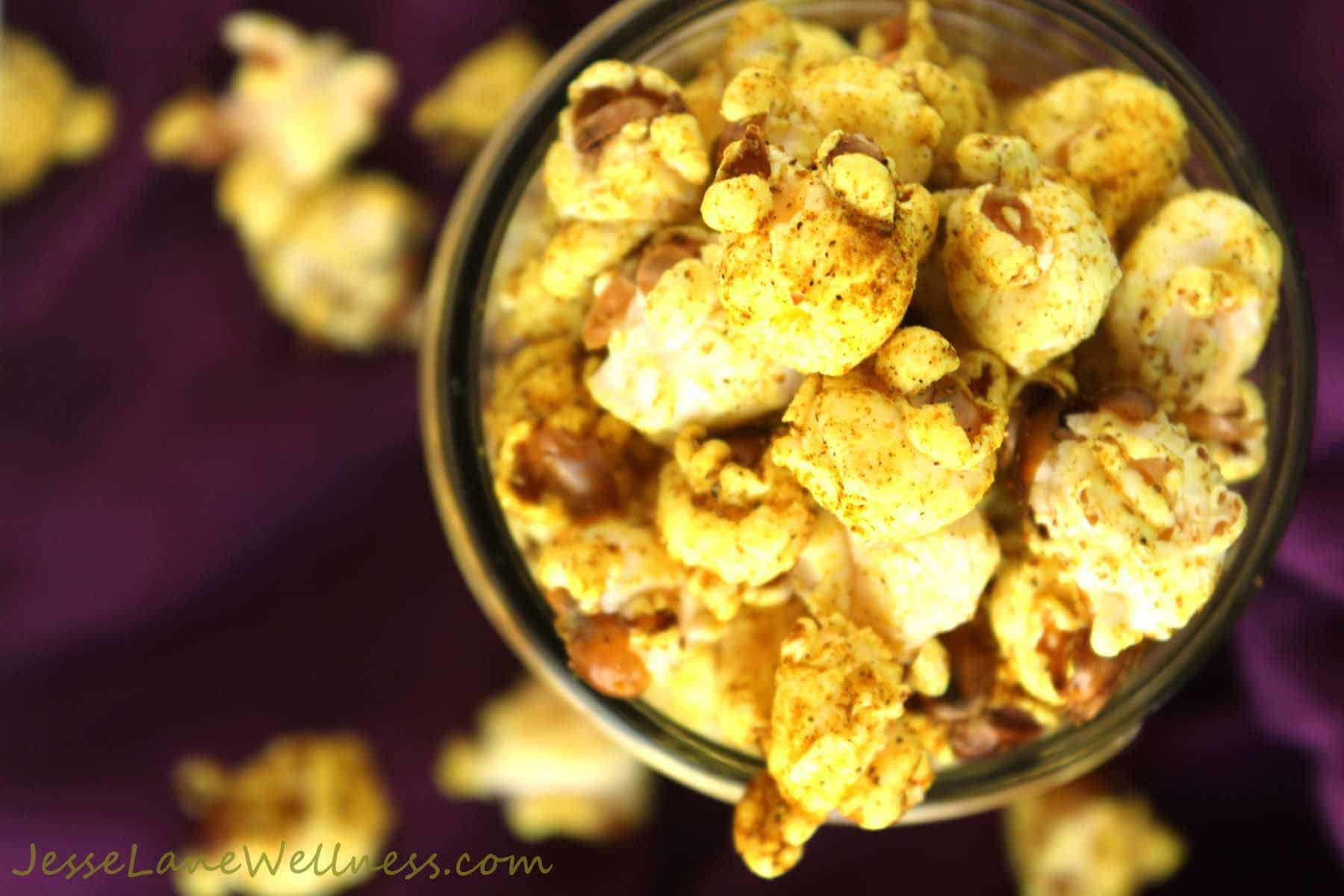 Stovetop Coconut Curry Popcorn (Vegan, Gluten Free) by ...