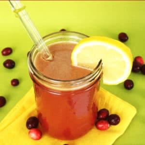 Cranberry Apple Detox Juice by Jesse Lane Wellness