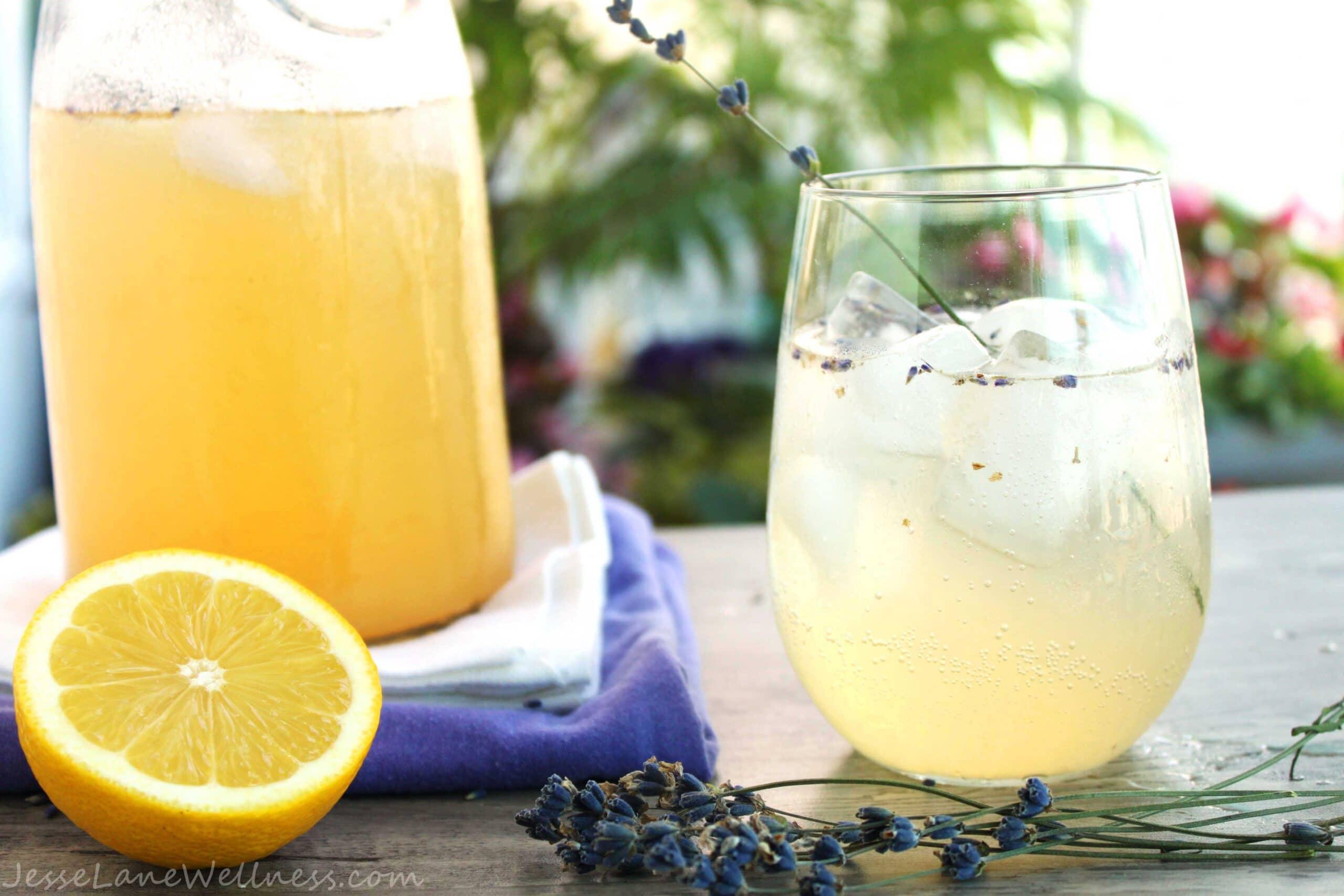 Lavender Lemonade by @JesseLWellness #lavender