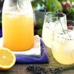 Lavender Lemonade by @JesseLWellness #lemonade #lavender