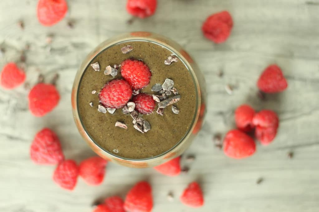 Holistic in the City 21 Day Smoothie Challenge Raspberry Crave Smoothie
