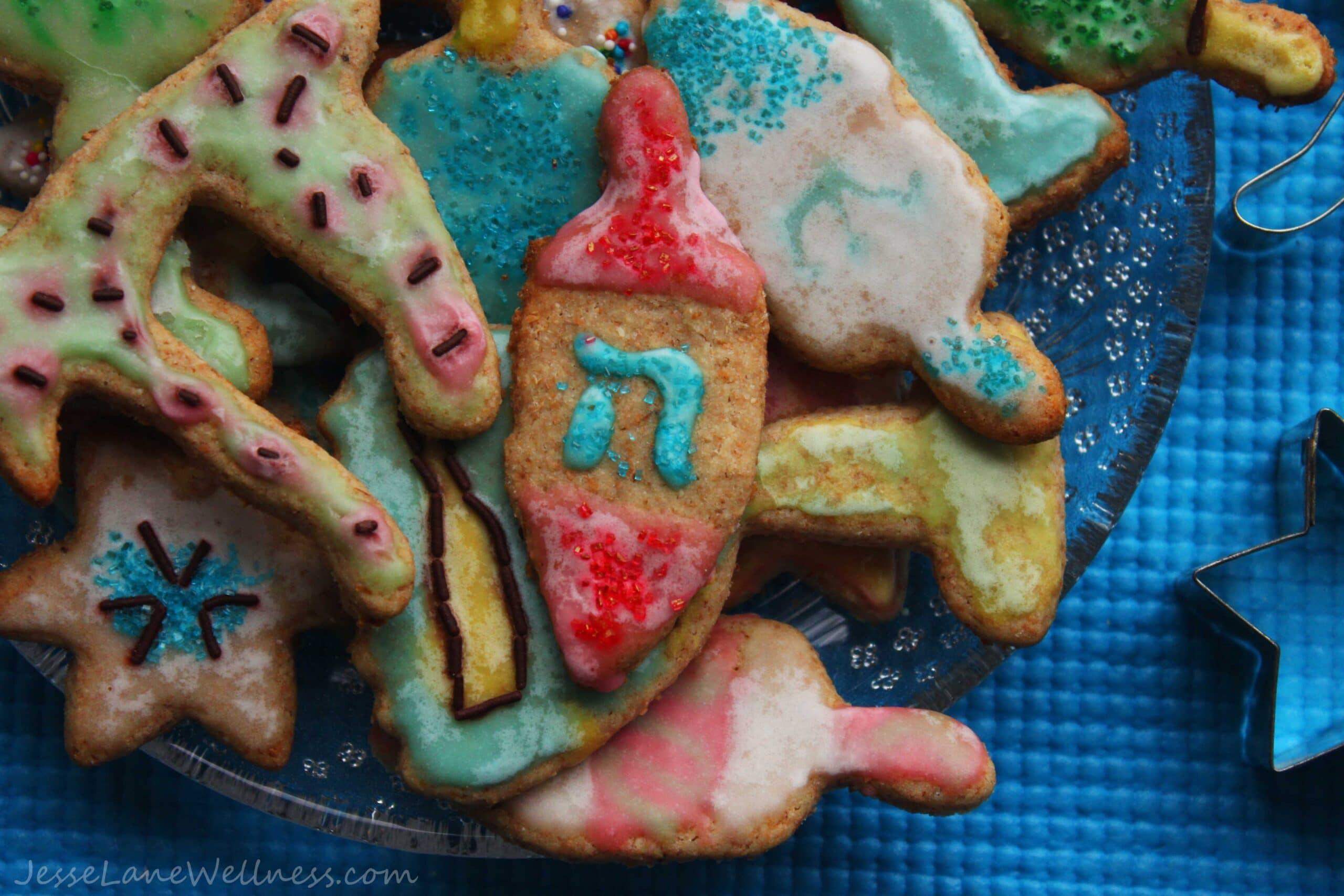 Spelt Sugar Cookies by @JesseLWellness #cookies