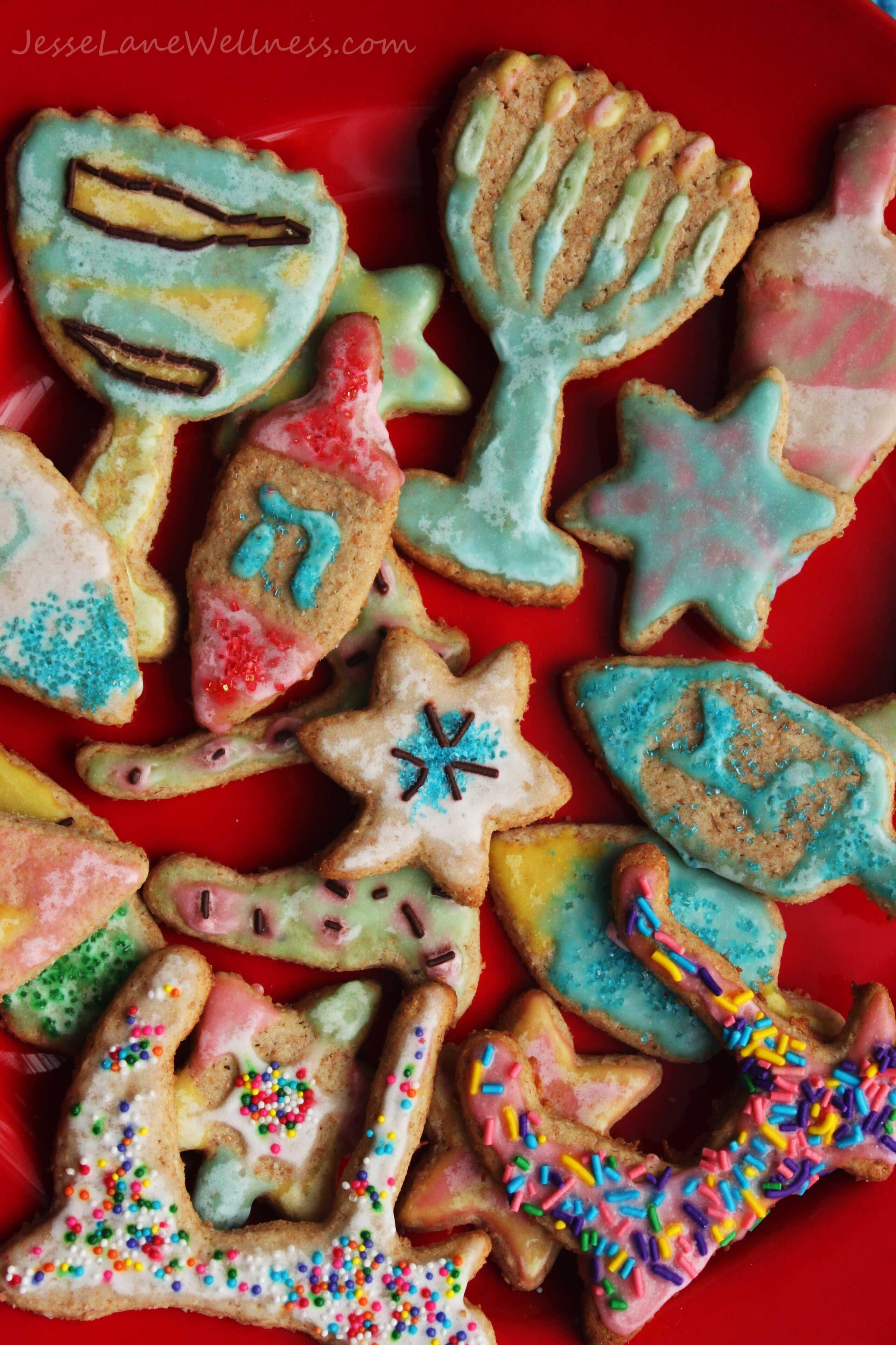 Spelt Sugar Cookies by @JesseLWellness #spelt #cookies