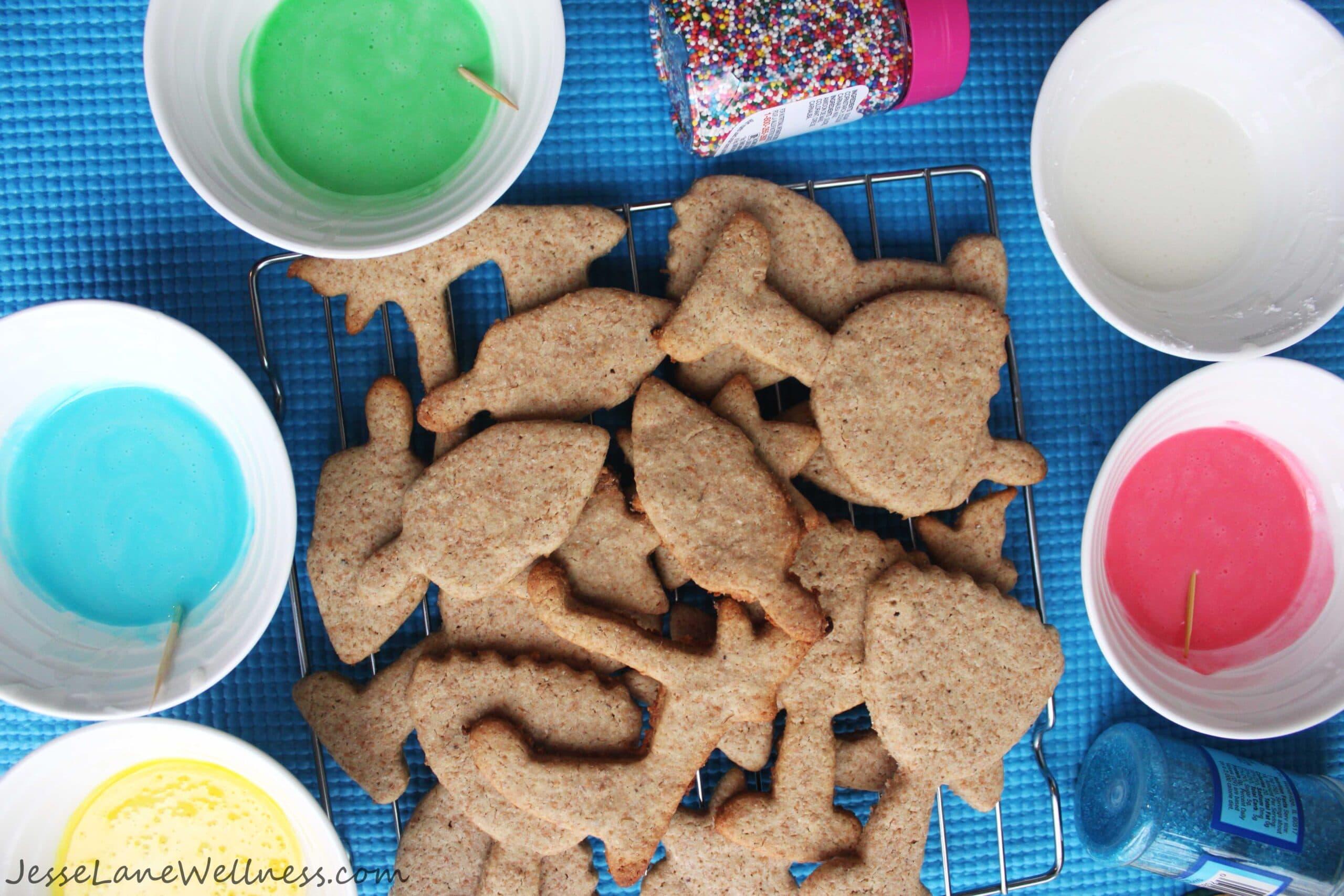 Spelt Sugar Cookies by @JesseLWellness #spelt #holiday