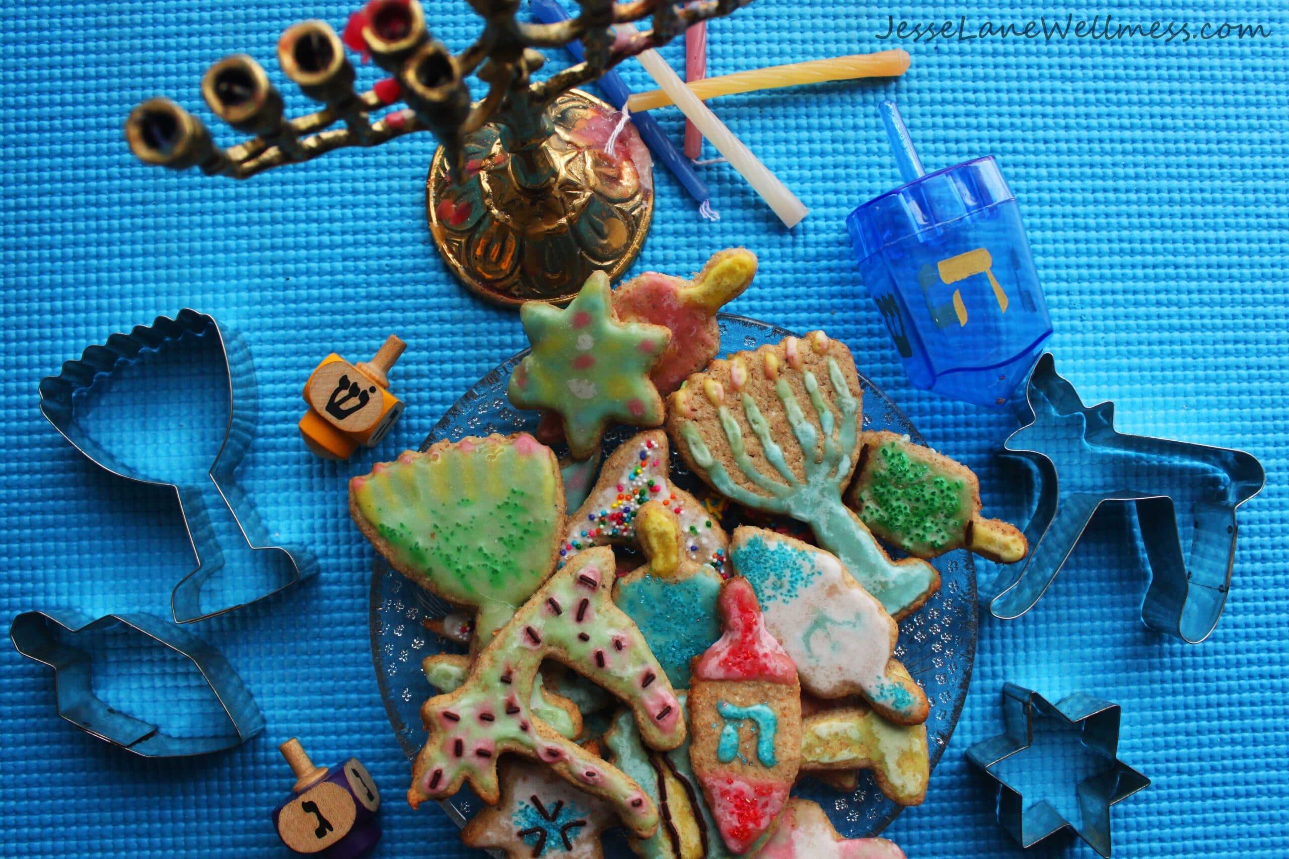 Spelt Sugar Cookies by @JesseLWellness #sugarcookies