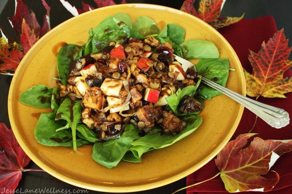 Sweet Autunm Salad by @JesseLWellness #salad
