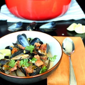 Thai Coconut Mussels by Jesse Lane Wellness