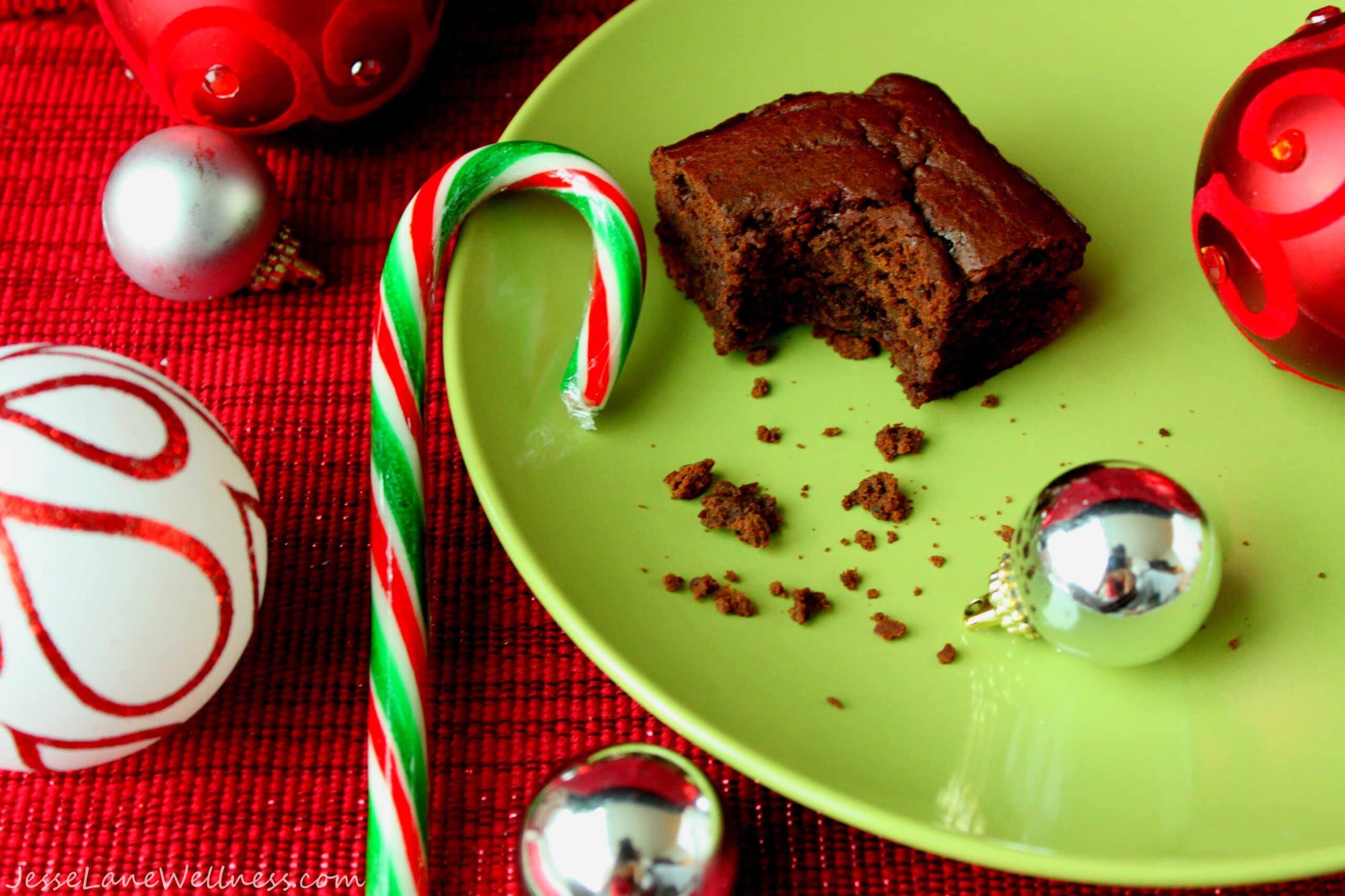 Black Bean Brownies by @JesseLWellness #brownies