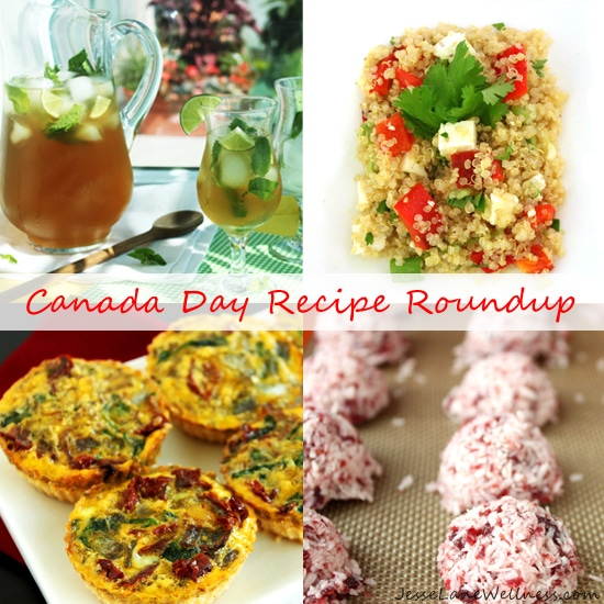 Canada Day Recipe Roundup with @JesseLWellness