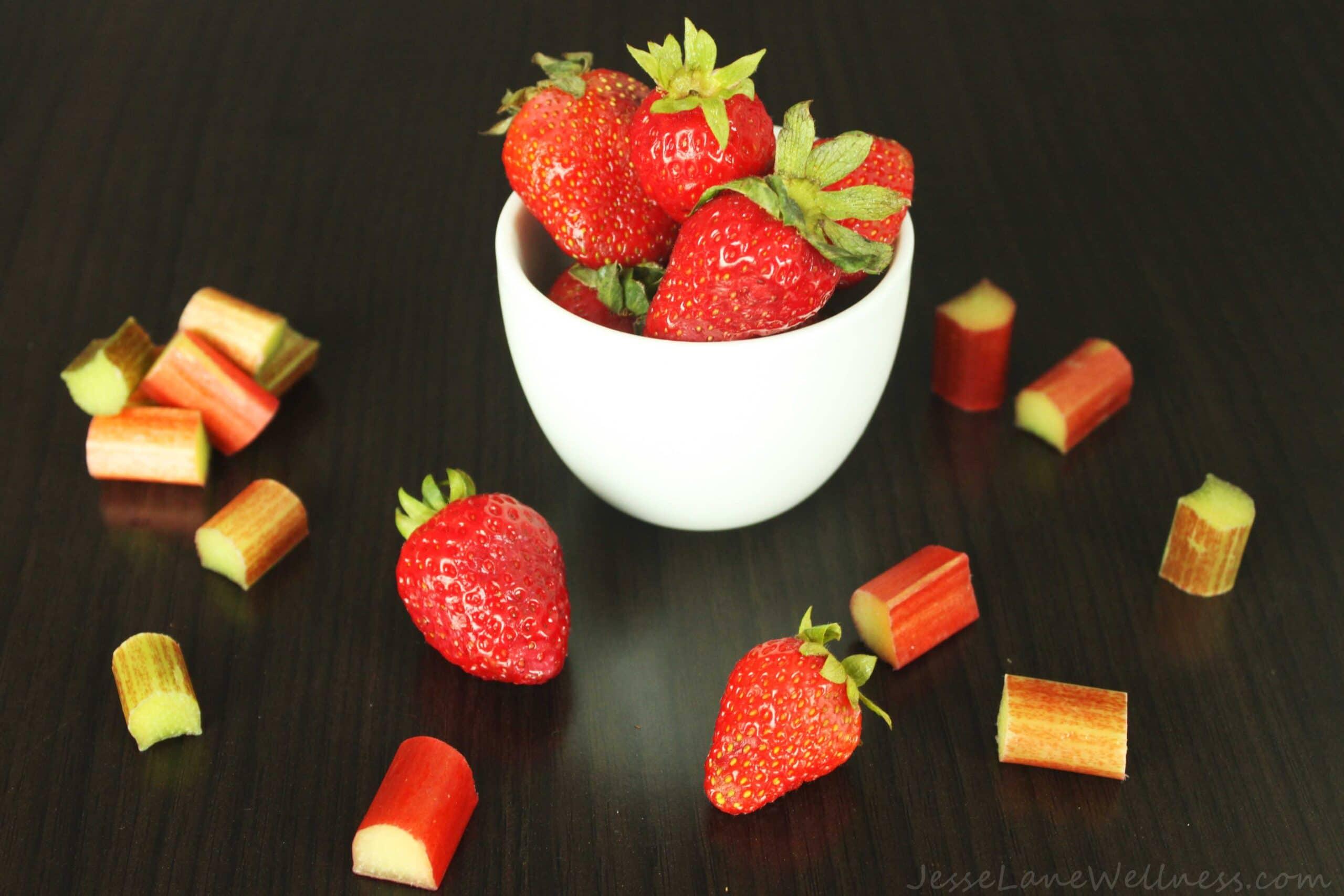 Strawberry Rhubarb by @JesseLaneWellness