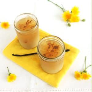Iced Dandelion Vanilla Latte by Jesse Lane Wellness