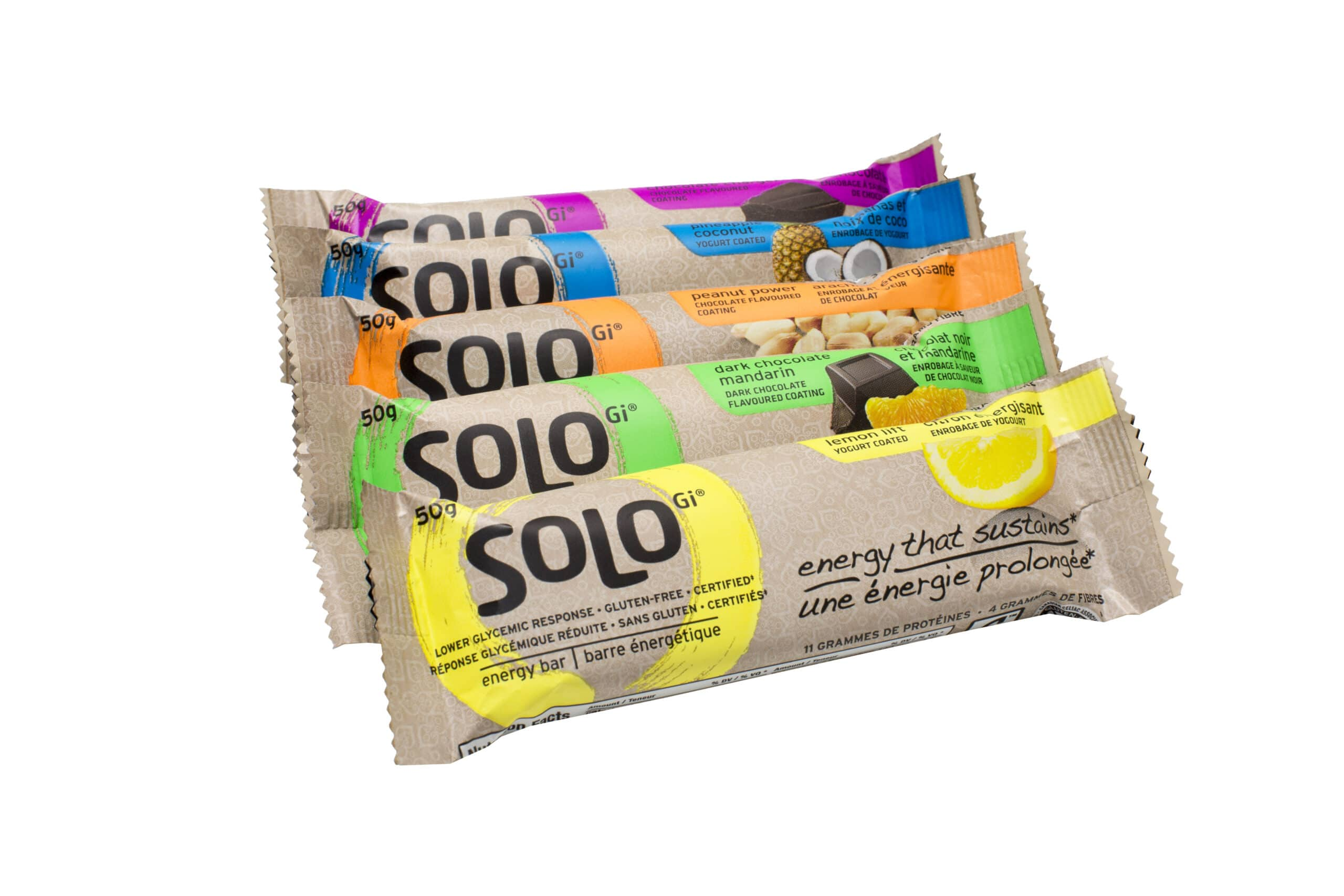SoLo GI Energy Bars Review and Giveaway on @JesseLWellness #snack #bar ...