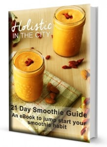 21 Day Smoothie Guide Cover by @jesselwellness