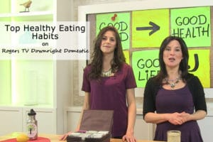 In the Media - Rogers TV Downright Domestic Healthy Eating Habits