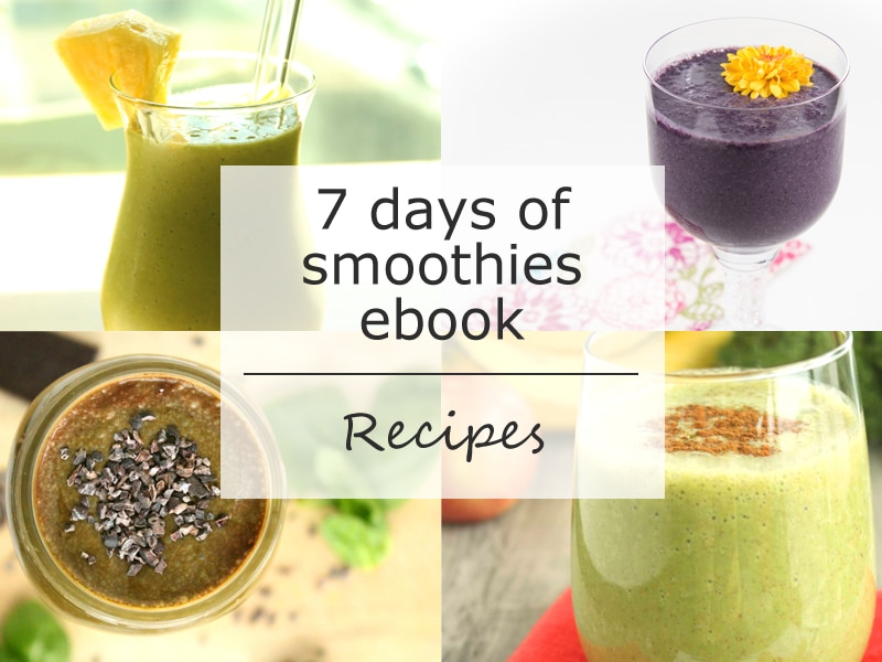 Recipe sneak peek in 7 days of smoothies by @jesselwellness #smoothies #recipes