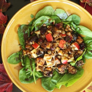 Sweet Autunm Salad by @JesseLWellness #glutenfree #fallrecipe