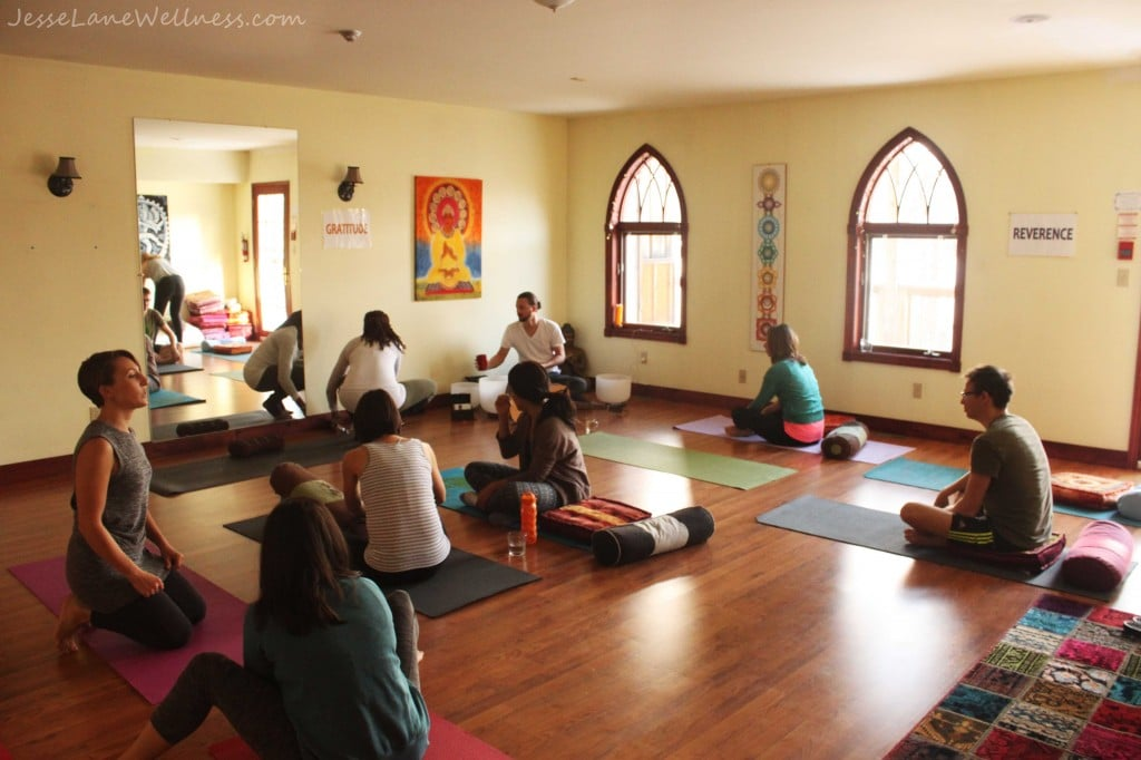 Grail Springs Yoga by @jesselwellness #yoga #GrailSprings