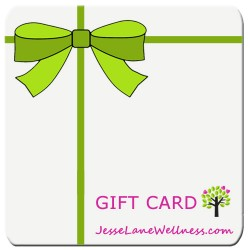 Buy a Gift Card Winter from @jesselwellness square #giftcard