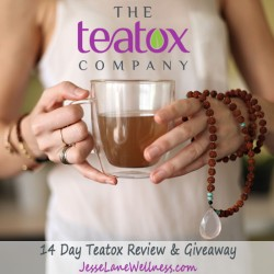 14 Day Teatox Review and Giveaway on JesseLaneWellness