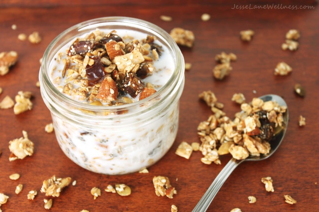 Healthy Homemade Granola by @jesselwellness #vegan #glutenfree