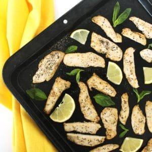 Lemon Basil Chicken by Jesse Lane Wellness