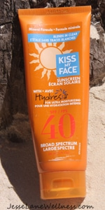 Best Non-toxic Sunscreen Brands - Kiss My Face @jesselwellness #sunscreen #kissmyface