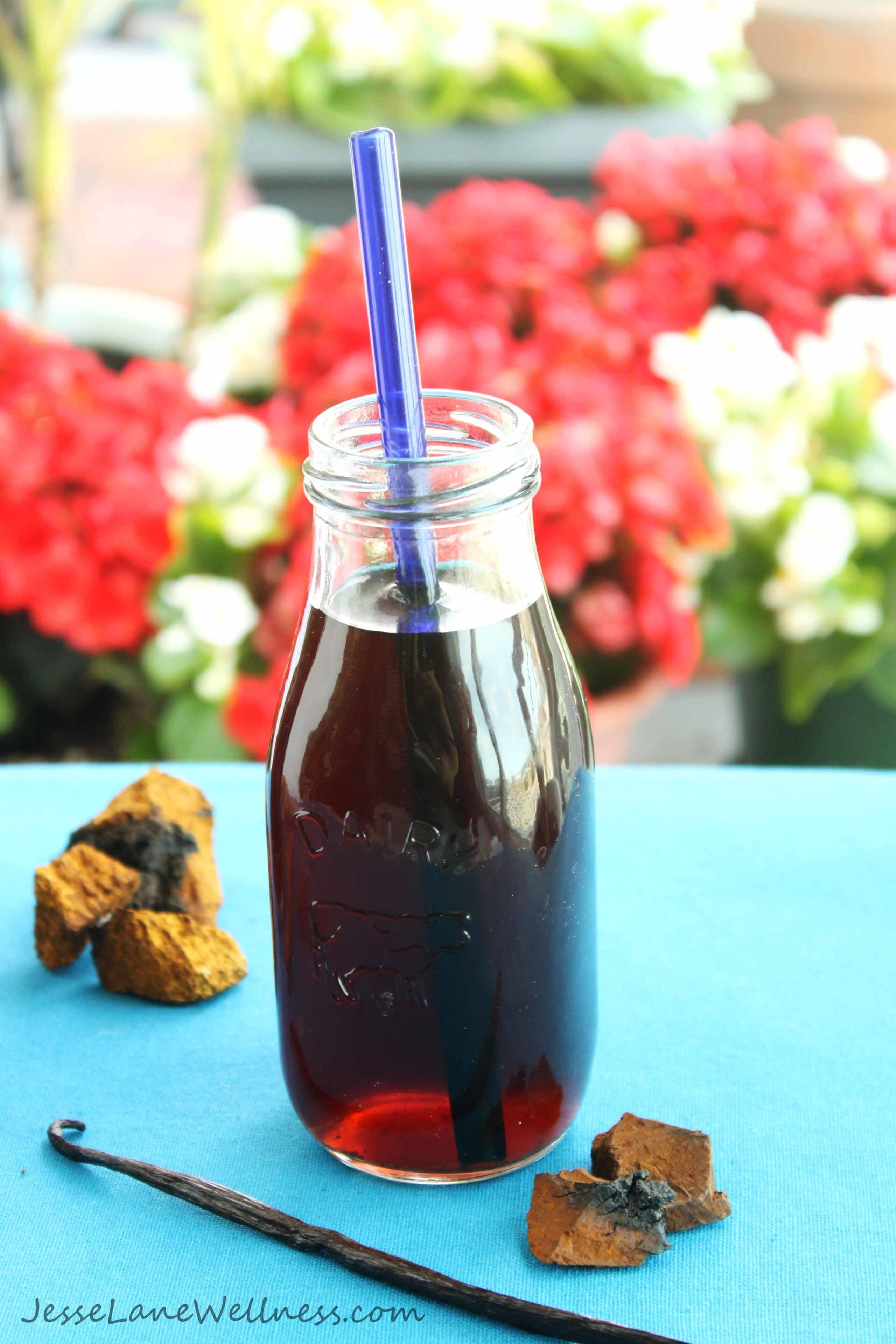 Chaga Mushroom Tea Recipes by Jesse Lane Wellness